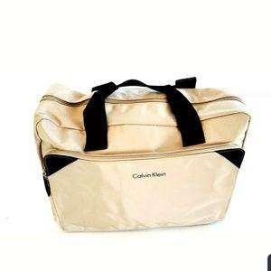 Calvin Klein Man  Tan  Duffle Travel Bag  ,GYM BAG